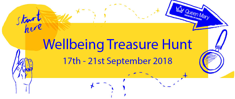 Wellbeing Treasure Hunt 2018
